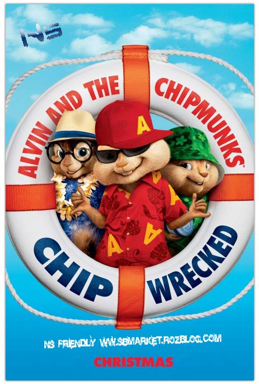       Alvin and the Chipmun 3  Chipwrecked 2011 BluRay 